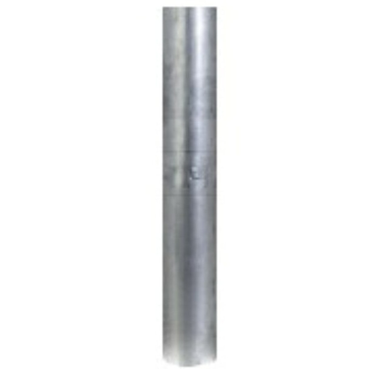 "2.5"" x 36"" Straight Exhaust Stack Pipe Aluminized OD Bottom Nelson 89200A"