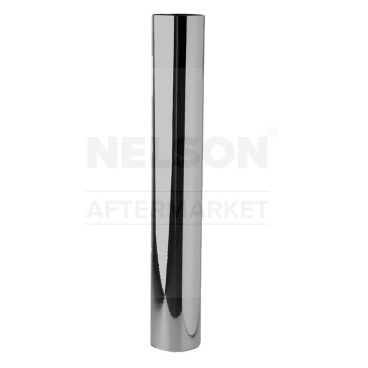 "89013C 4"" x 24"" Chrome Exhaust Stack Straight-OD"