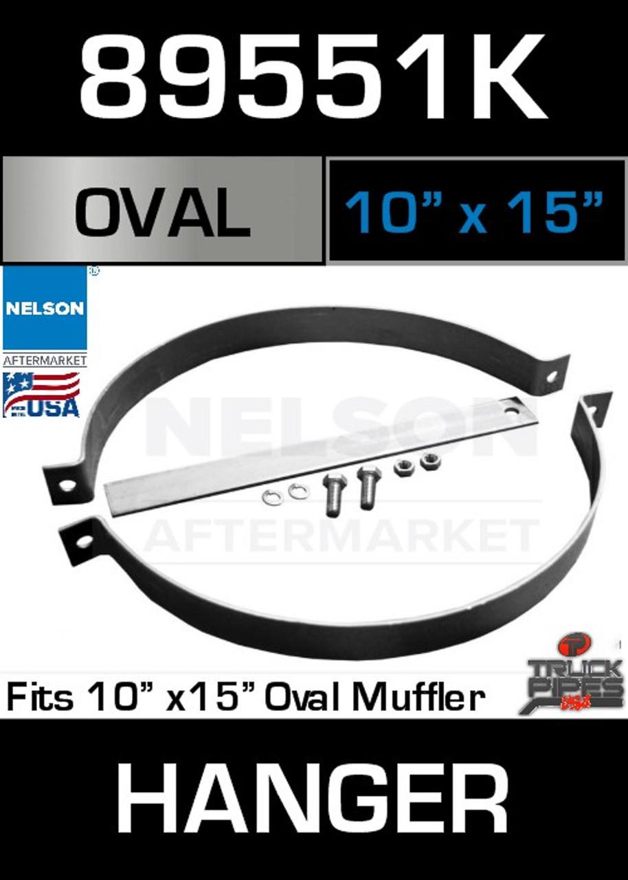 "10"" x 15"" Universal Muffler Pipe Hanger 15"" Long 89551K"
