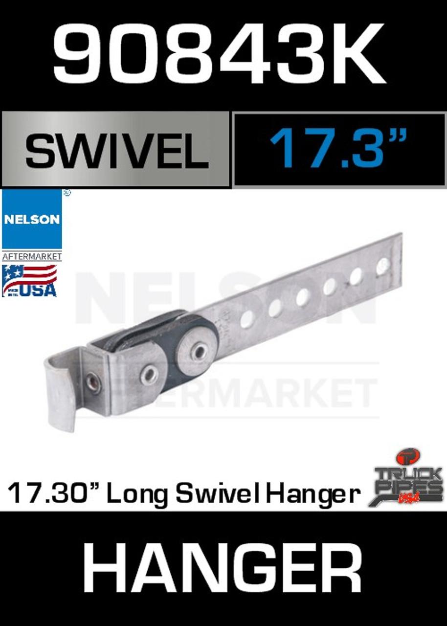 "17.3"" Universal Swivel Exhaust Pipe Hanger 90843K"