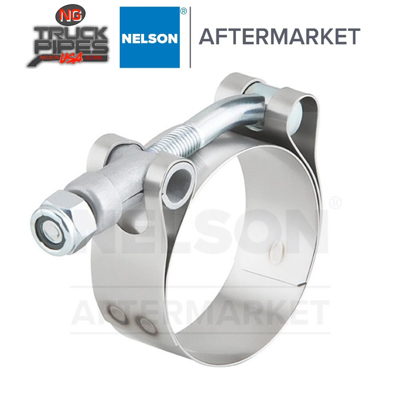 """5"""" T-Bar Exhaust Clamp for Air Intake Applications Nelson 89584K"""