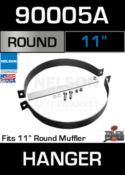 "11"" Universal Muffler Exhaust Pipe Hanger 12"" Long 900005A"