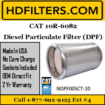 10R-6082-NDPF005CT-10 10R-6082 CAT C7 DPF Diesel Particulate Filter