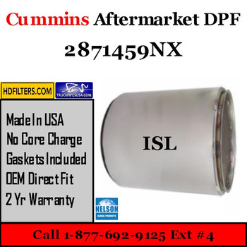 2871459NX-NDPF045CU-10 2871459NX Cummins ISL Engine Diesel Particulate Filter DPF