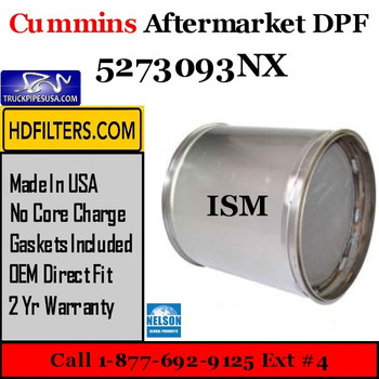 5273093NX-NDPF059CU-10 5273093NX Cummins ISM Engine Diesel Particulate Filter DPF