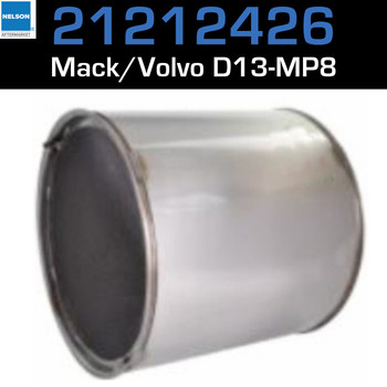 21212426 Volvo DPF for D13  MP8 Engine
