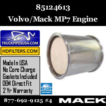 85124613-NDPF046MV-10 85124613 Volvo/Mack DPF for MP7 Engine
