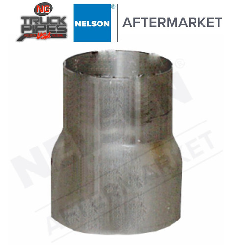 """4"""" x 3"""" OD-OD Exhaust Pipe Reducer Nelson 89881A"""