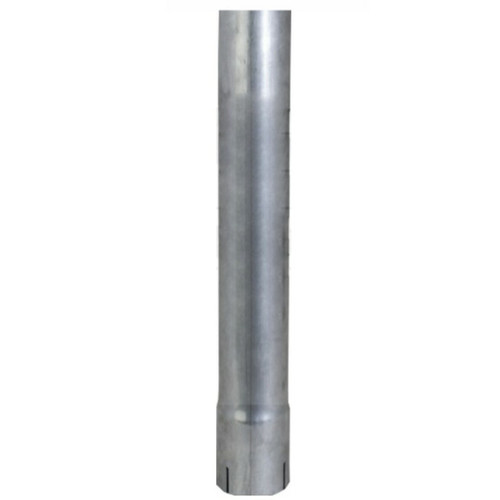"5"" x 48"" Straight Exhaust Stack Pipe Aluminized ID Bottom Nelson 89030A"