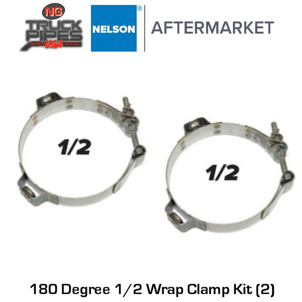 """6"""" Clamp Kit (Includes 2 clamps to be used with 90856C) Nelson 90857K"""