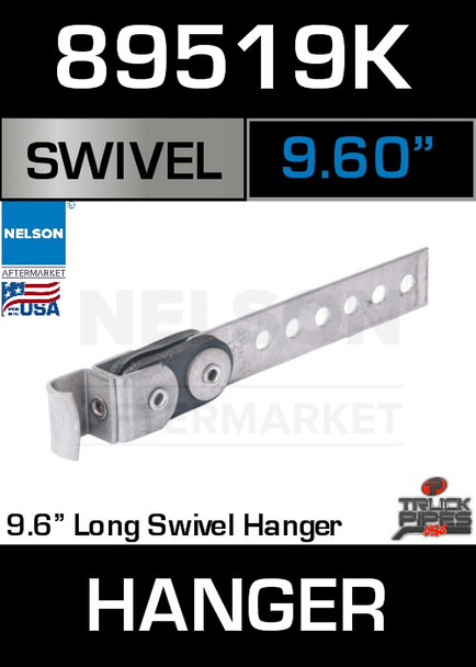 "9.6"" Universal Swivel Exhaust Pipe Hanger 89519K"