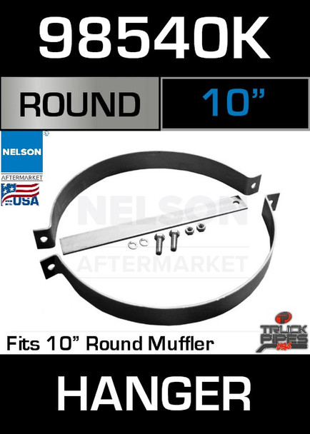 "10"" Universal Muffler or Exhaust Pipe Hanger 12"" Long 98540K"