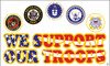 """""""Support Our Troops"""" Military Flags"""