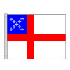Episcopal Nylon Indoor Flags with Pole Hem Only