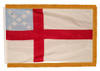 Episcopal Nylon Indoor Flags with Pole Hem and Fringe
