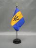 Barbados (UN OAS) Stick Flags