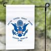 U.S. Coast Guard Garden Flag