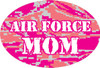 Air Force Mom Oval Magnet
