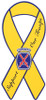 "8"" Yellow Ribbon Magnet - 10th Infantry Division"