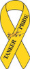 "8"" Yellow Ribbon Magnet - ""Tanker Pride"""