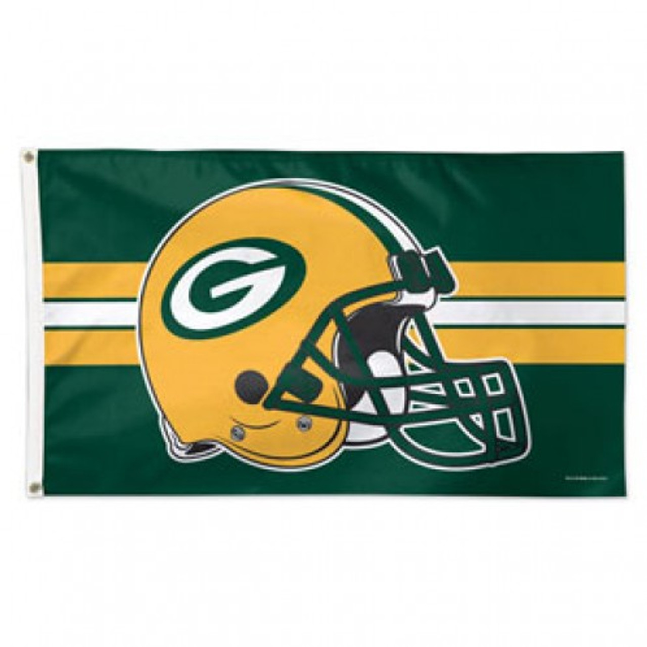 Green Bay Packers Helmet 3 X 5 Flag Fredsflags