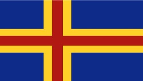 Aland Islands Outdoor Flag