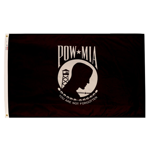 POW-MIA (Single Seal) - Outdoor Flags
