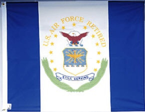 Air Force Retirement Flags