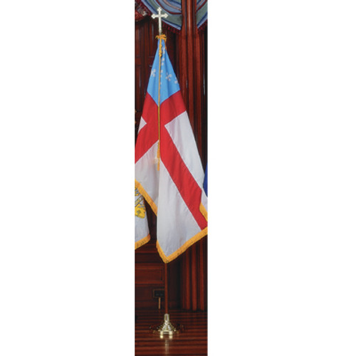 Episcopal Deluxe Nylon Sets with Oak Poles