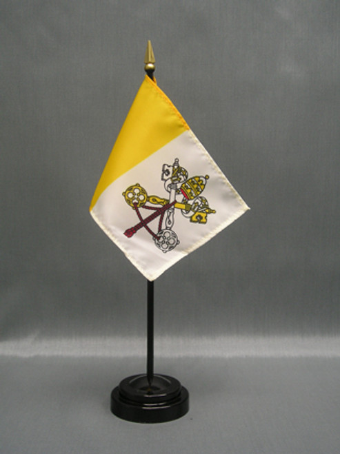Vatican City (Papal) Stick Flags