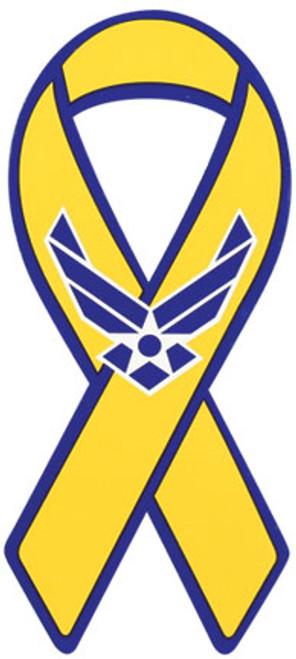 "8"" Yellow Ribbon Magnet - Air Force ""Hap"" Arnold"