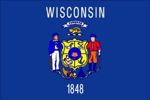 Wisconsin - Outdoor Flags
