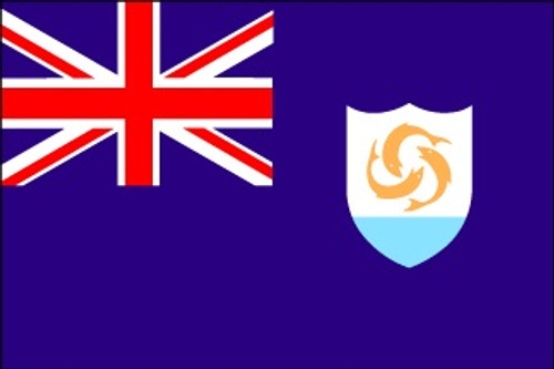 Anguilla  - Indoor Flags