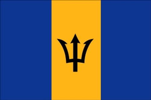 Barbados (UN OAS) - Indoor Flags