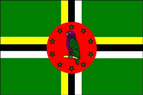Dominica (UN OAS) - Indoor Flags