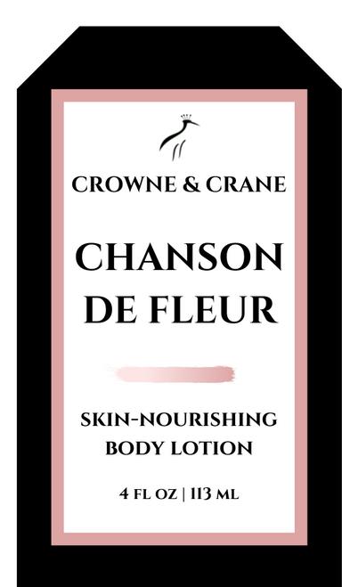 CHANSON de FLEUR SKIN-NOURISHING BODY LOTION
