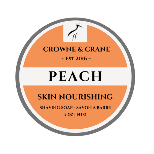 Peach Shaving Soap