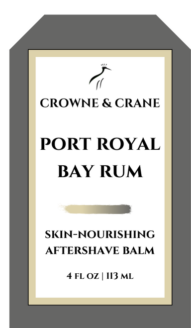 PORT ROYAL BAY  RUM AFTERSHAVE BALM