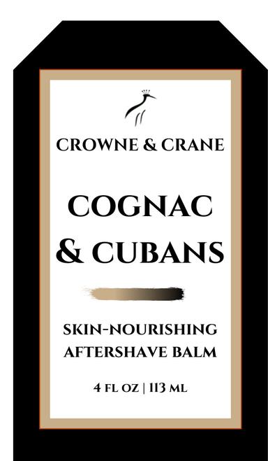 COGNAC & CUBANS AFTERSHAVE BALM
