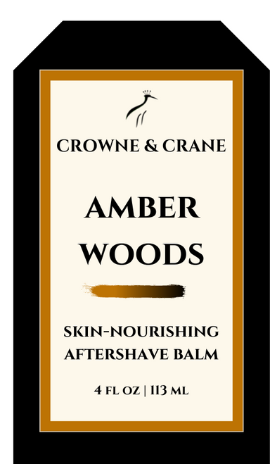 AMBER WOODS AFTERSHAVE BALM