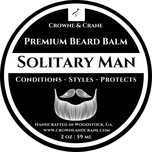 SOLITARY MAN CONDITIONING BEARD BALM - 2 OZ