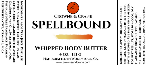 WHIPPED BODY BUTTER - SPELLBOUND