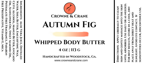 WHIPPED BODY BUTTER - AUTUMN FIG