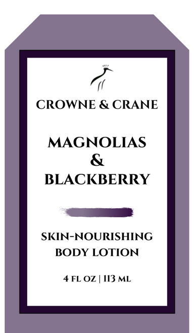 BLACKBERRIES & MAGNOLIA SKIN-NOURISHING BODY LOTION