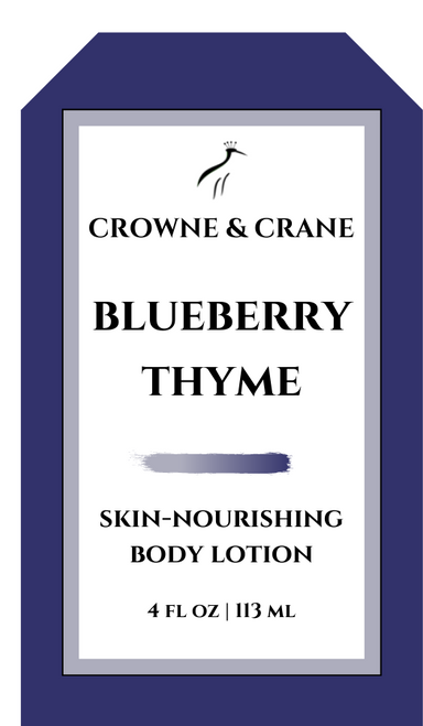 BLUEBERRY THYME SKIN-NOURISHING BODY LOTION