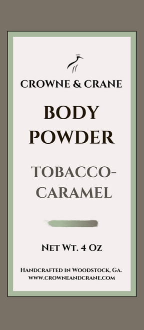 BODY POWDER -  TOBACCO-CARAMEL