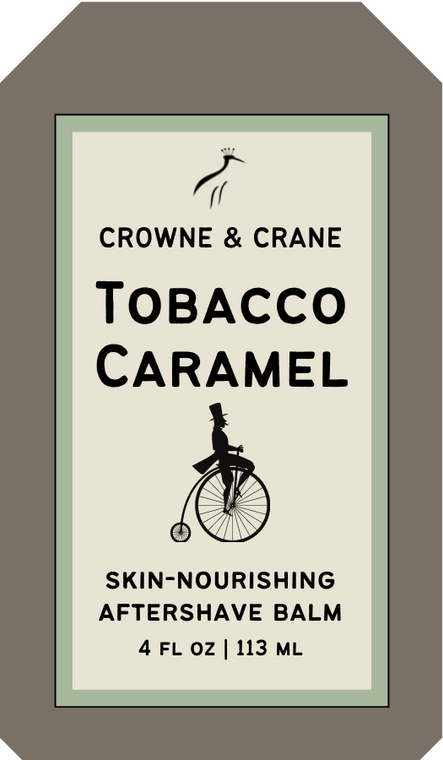 TOBACCO-CARAMEL AFTERSHAVE BALM