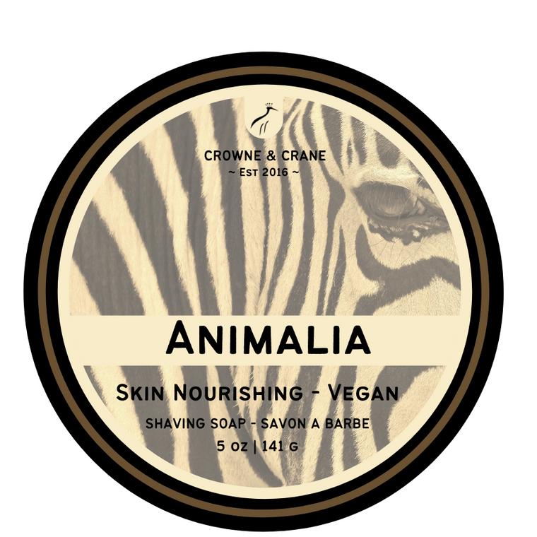 ANIMALIA - VEGAN SHAVE SOAP