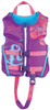 Full Throttle Purple Rapid Dry Flex-Back Child Sized Type III PFD Safety, Life & Ski Vest for Boats