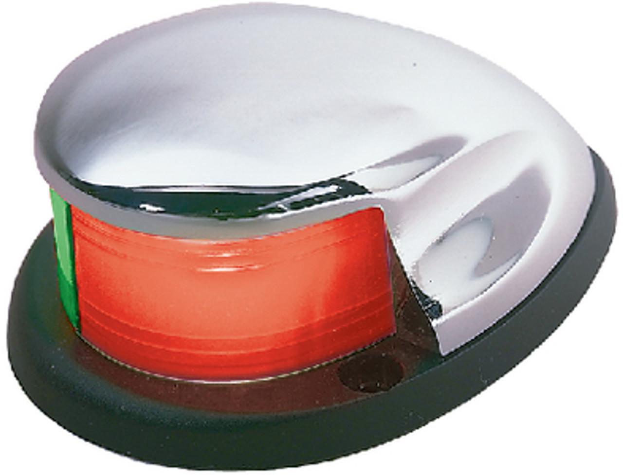 Marine Boat Combination Bi Color Red Green Deck Mount Bow Navigation Light 04981
